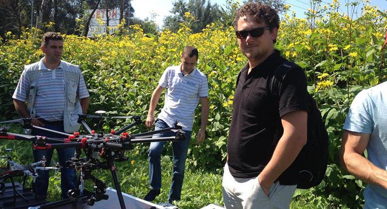 использование беспилотников (дронов) в сфере агрострахования - <a href=http://Drone.UA target=_blank>Drone.UA</A>