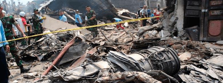 крушения военно-транспортного самолета Hercules C-130 в Индонезии