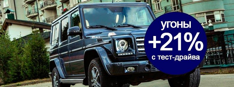 Российские страховщики констатируют рост количества угонов автомобилей с тест-драйвов