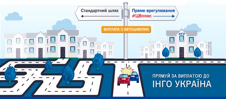 «ИНГО Украина» запустила новый продукт по автострахованию — «#ЦВплюс»