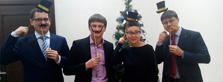 топ-менеджмент ВУСО: Александр Шойхеденко, Елена Митронина, Артем Ягодинец и Андрей Артюхов