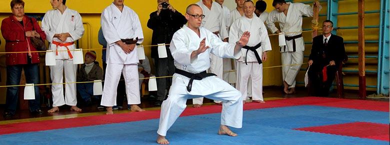 Валерий Туровский, мастер каратэ Шотокан