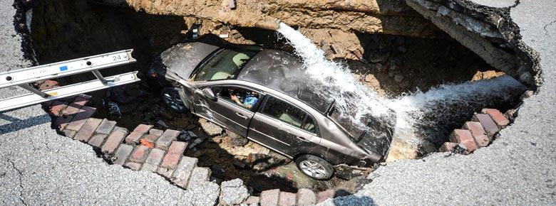 Форд спасёт от плохих дорог