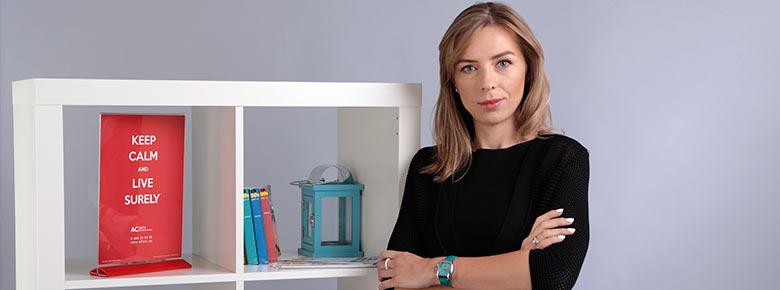Ирина Гевель, Председатель Правления СК «Альфа Страхование»