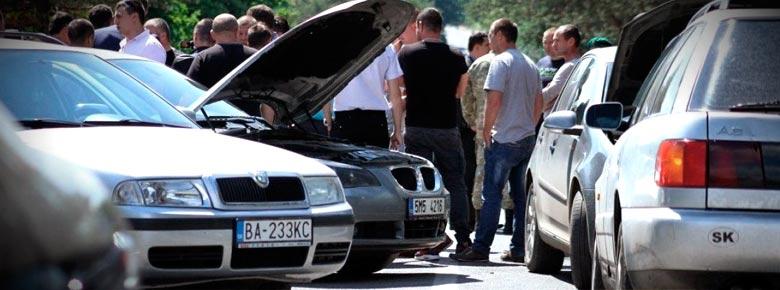 В Украине растёт количество ДТП с участием незастрахованных автомобилей на иностранной регистрации