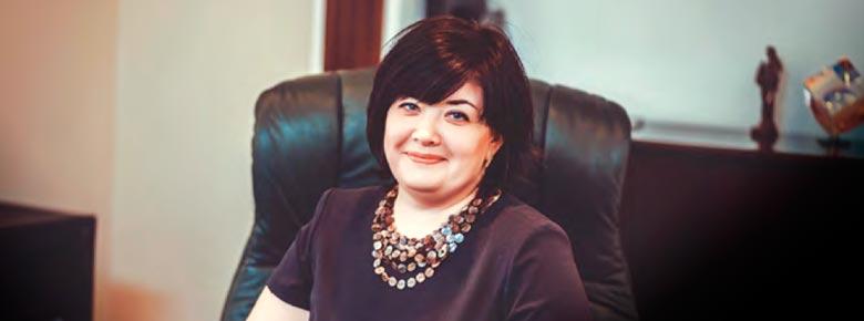 Галина Ким, Директор страховой компании «Укрфинстрах»