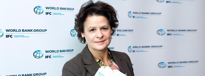 Лия Сорока, руководитель программы IFC «Развитие финансирования аграрного сектора в Европе и Центральной Азии»