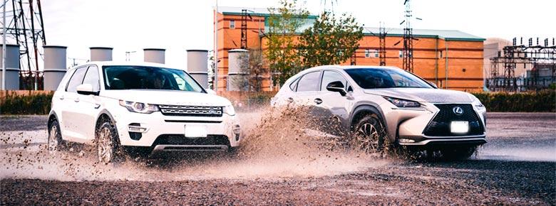 Land Rover и Lexus