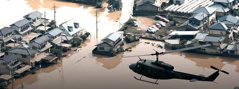 Страховщики оценивают убытки от тайфуна на западе Японии