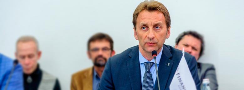 Андрей Перетяжко, Президент УФУ, Вице-президент «АХА Страхование»