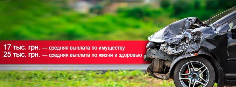 Количество ДТП на дорогах Украины в 2018 году снижается, а размер страховых выплат продолжает расти