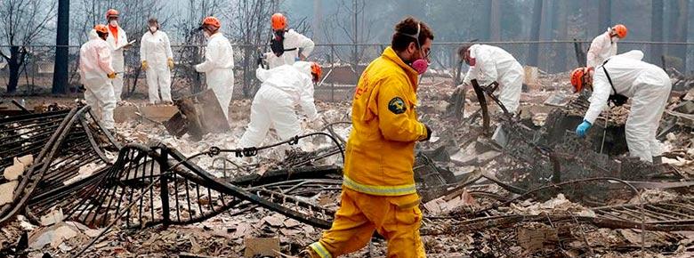 Убытки страховщиков от лесных пожаров в Калифорнии в 2018 году превысят $12,4 млрд.