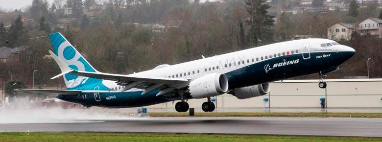 Госавиаслужба Украины приостановила полеты Boeing 737-8 MAX и 737-9 MAX