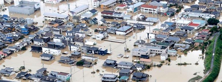 Глобальные страховые убытки от стихийных бедствий
