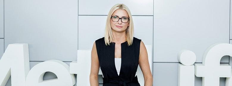 Инна Белянская, Член правления MetLife Украина