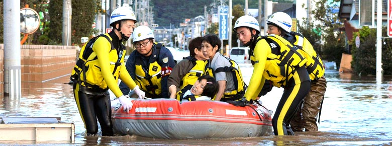 Страховщики оценивают убытки от тайфуна Хагибис в Японии