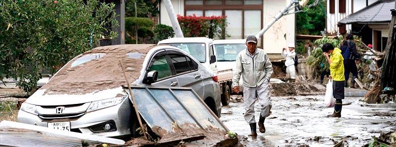 Экономические потери от тайфуна «Хагибис» в Японии превысят $10 млрд.