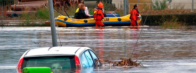 Страховщики готовятся к убыткам в сотни миллионов евро от ноябрьских наводнений во Франции и Италии