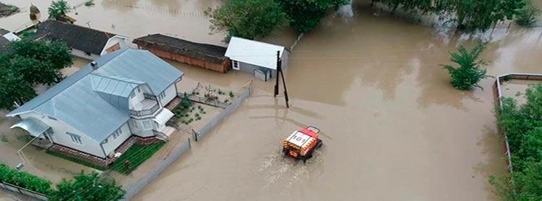 Паводки в западных областях Украины нанесли 234 млн. грн. убытков, львиная доля которых не застрахована