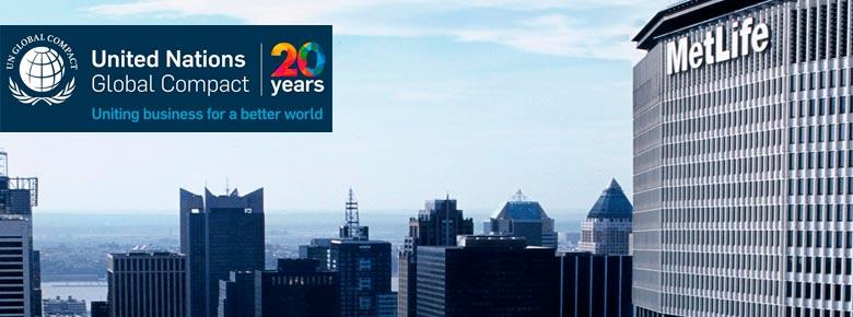 MetLife стал первым страховщиком жизни, присоединившимся к инициативе ООН по устойчивому развитию