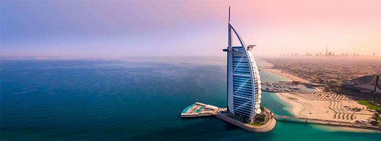 Риски отеля Burj Al Arab, стоящего на искусственном острове в Дубае