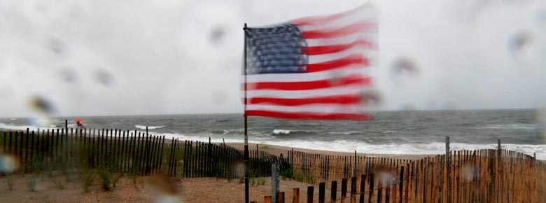 Выплаты страховщиков по убыткам от июльского шторма Fay в США