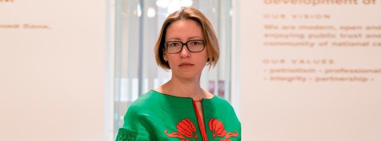 Директор Департамента НБУ по надзору за страховым рынком Ольга Максимчук.