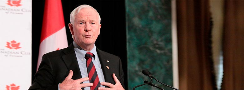 Дэвид Джонстон, экс-генерал-губернатор Канады, вернулся на пост директора Fairfax Financial Holdings