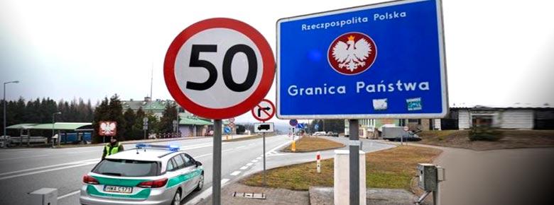 Польское бюро автостраховщиков констатирует существенное снижение количества проданных полисов зелёная карта на границе