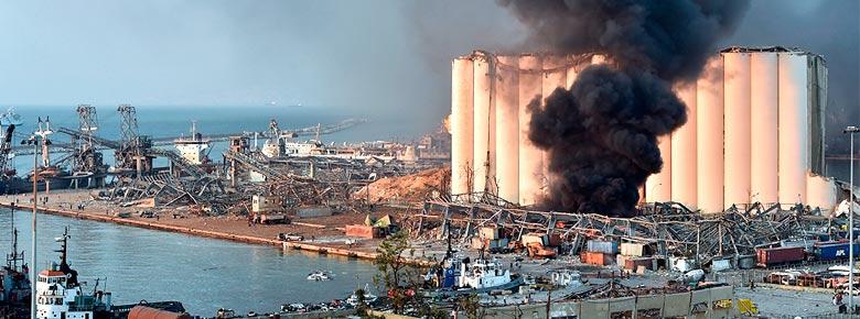 «Украинская страховая группа» выплатила $1,33 млн. за груз пшеницы, порежденный взрывом в порту Бейрута
