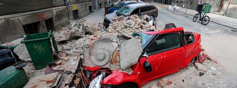 Страховщики ожидают роста тарифов и премий по имущественным рискам на 30% в связи с ростом числа землетрясений в Хорватии