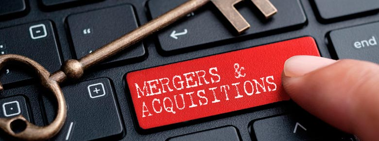 Объем M&A-сделок в мире в 2020 году сократился до $3,6 трлн. — на финансовый сектор приходится 13%