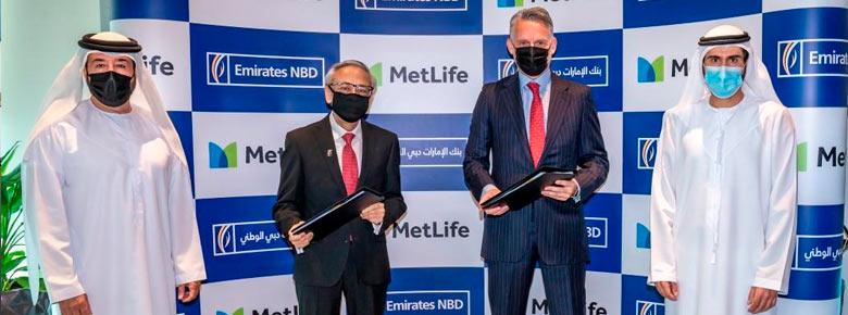 Крупнейший банк Дубая Emirates NBD и страховщик жизни MetLife