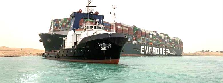 Oakeshott Insurance: застрахованные убытки от блокировки Суэцкого канала могут составить $150-250 млн.