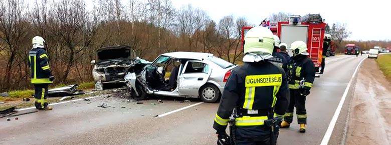 Латвийское бюро автостраховщиков LTAB представило статистику ДТП в Латвии за 2016-2020 годы