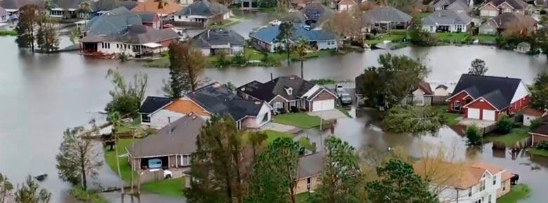 ущерб от урагана Ида