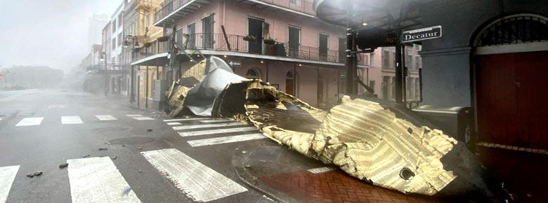 Повреждения жилого, коммерческого и автомобильного секторов от урагана Ида будут покрыты стандартным страхованием