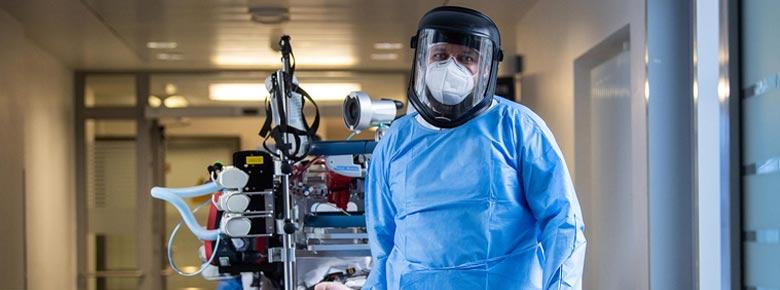 Система здравоохранения Украины готова к госпитализации до 90 тыс. пациентов с COVID-19